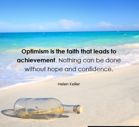 Optimism leads to Achievement