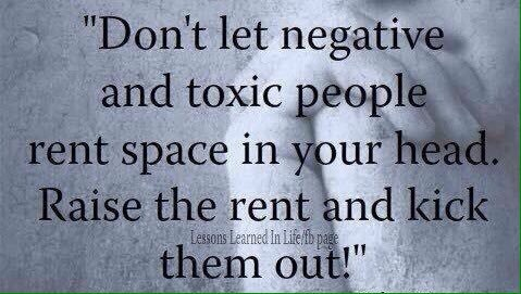 Kick out Negative, Toxic People